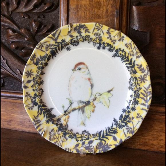 Anthropologie: Little Bird Plate.